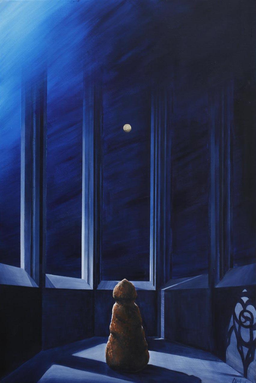 homunculus gollem menhir monk gothic
